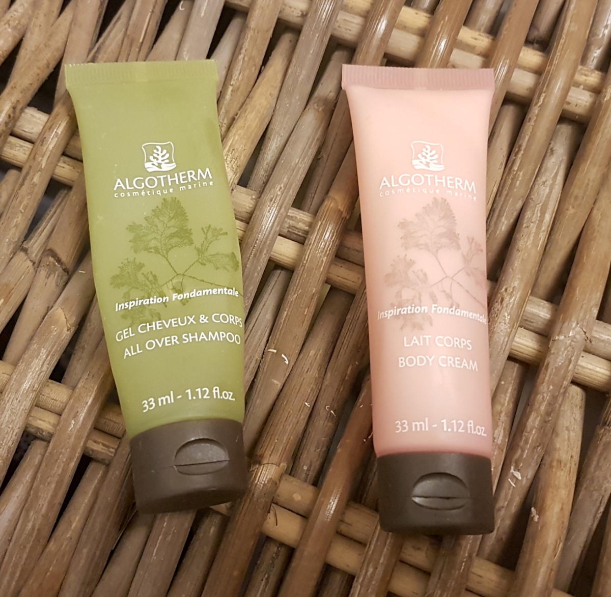 Sampling around: Algotherm, Cosmètique Marine, All over shampoo & Body Cream